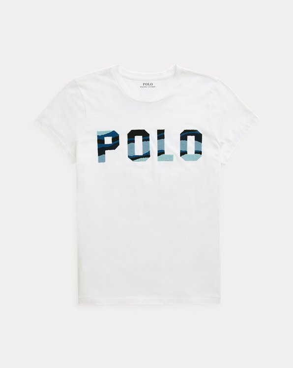 T-shirt Polo perlé