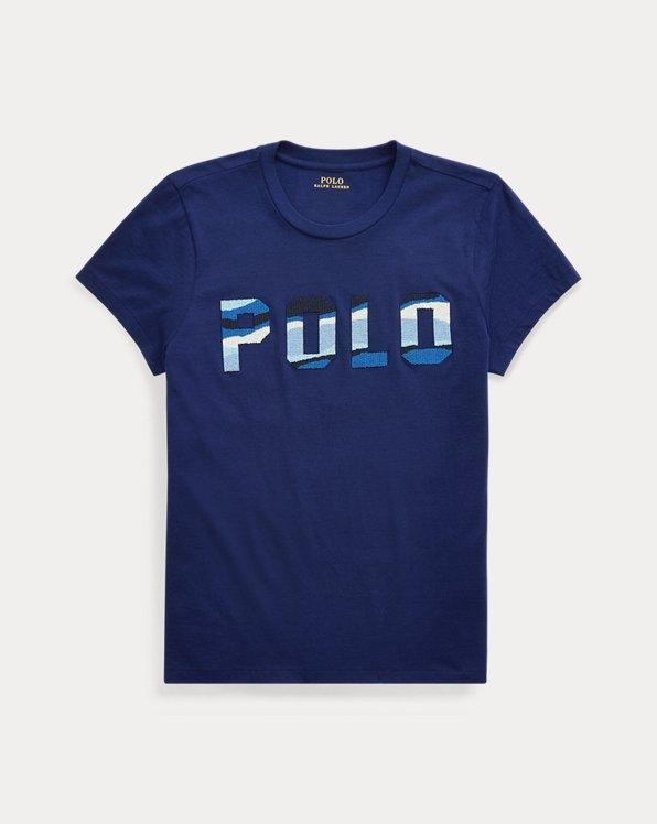 Camiseta Polo con abalorios