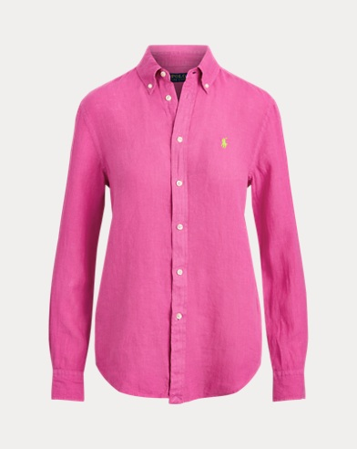 Linen Button-Down Shirt