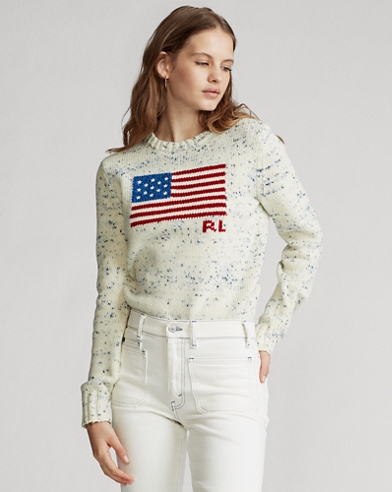 Flag Wool Sweater
