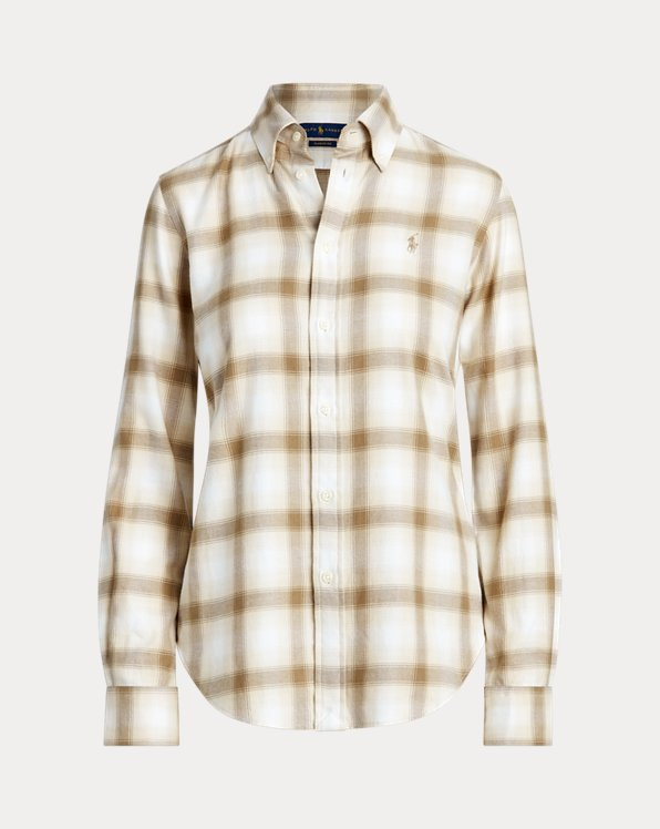 Flannel Button-Down Shirt