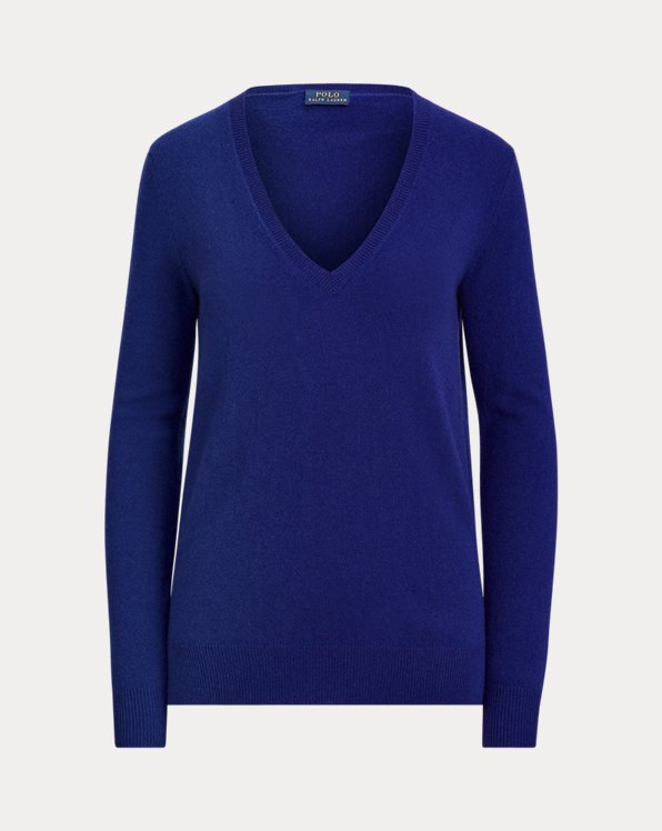 Washable Cashmere V-Neck