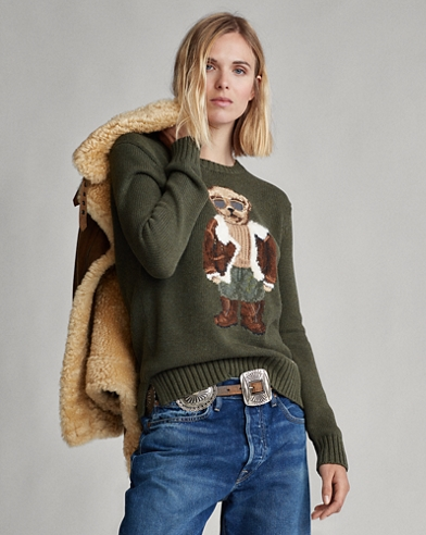 Aviator Polo Bear Jumper