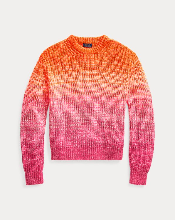 Ombré Wool-Blend Sweater