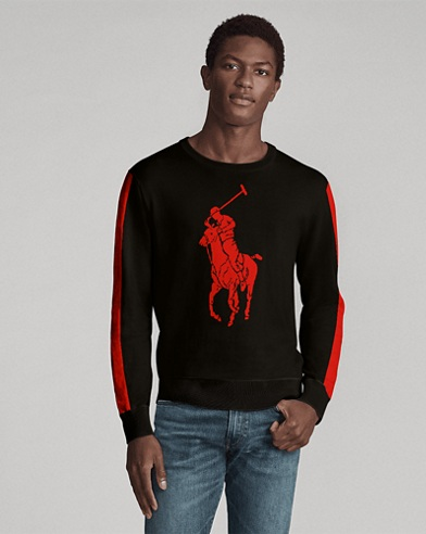 Custom Cotton Crewneck Sweater