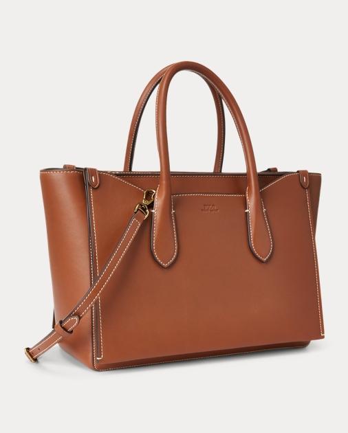Leather Large Sloane Satchel
