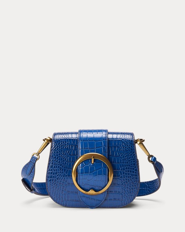 Crocodile-Print Lennox Bag