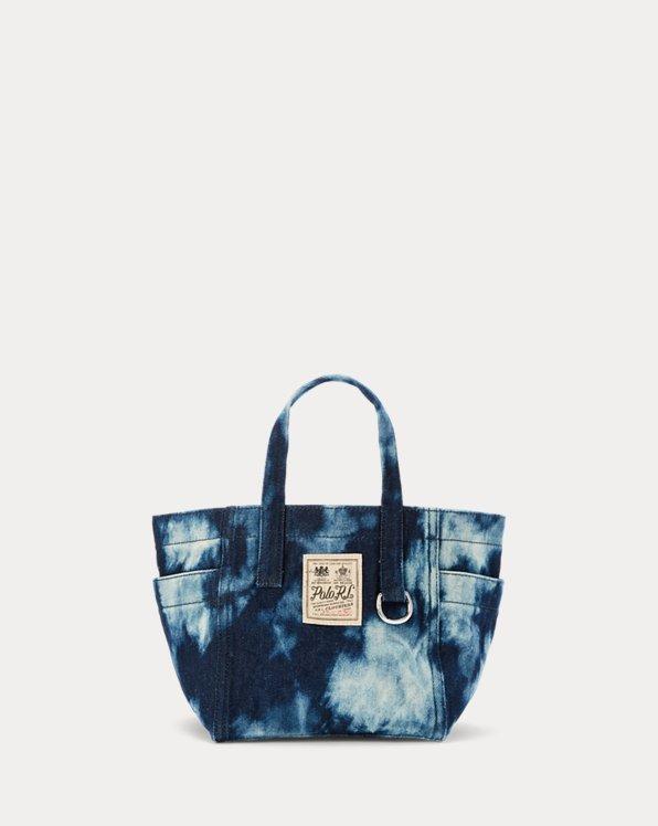 Denim Tie-Dye Mini Tote Bag