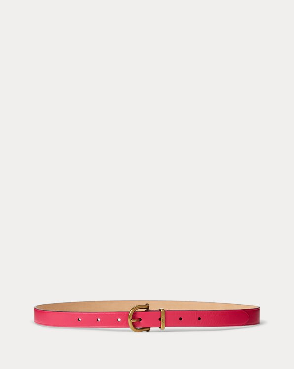 Leather Stirrup Belt