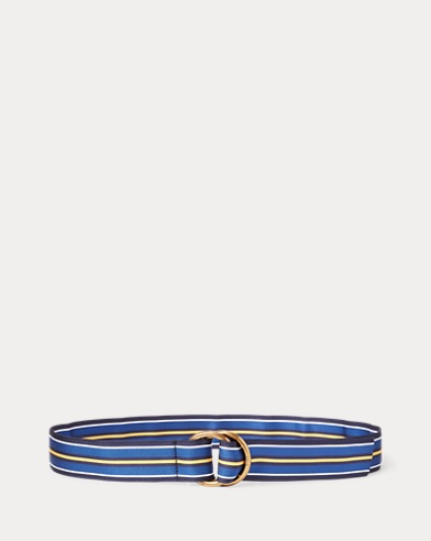 Grosgrain D-Ring Belt