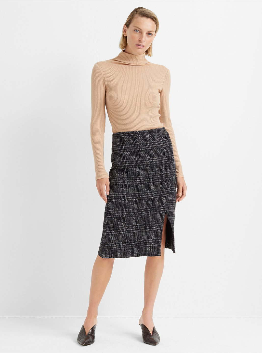 Cutaway Pencil Skirt