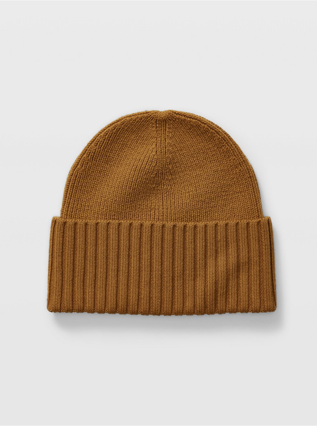 Wide Turn-Back Beanie