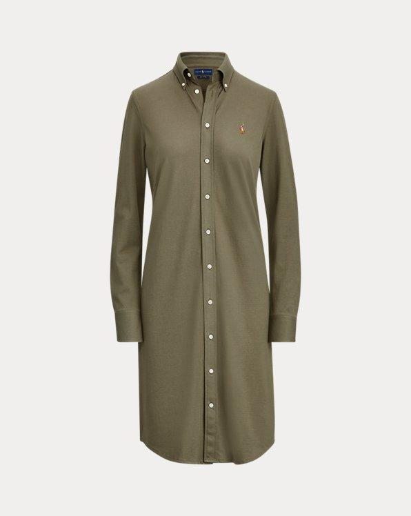 Cotton Oxford Shirtdress
