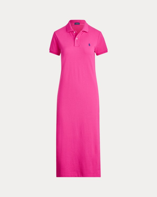 Robe-chemise Polo manches courtes