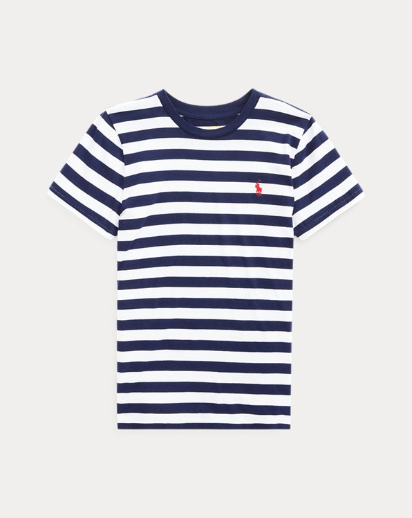 T-shirt rayé à manches courtes