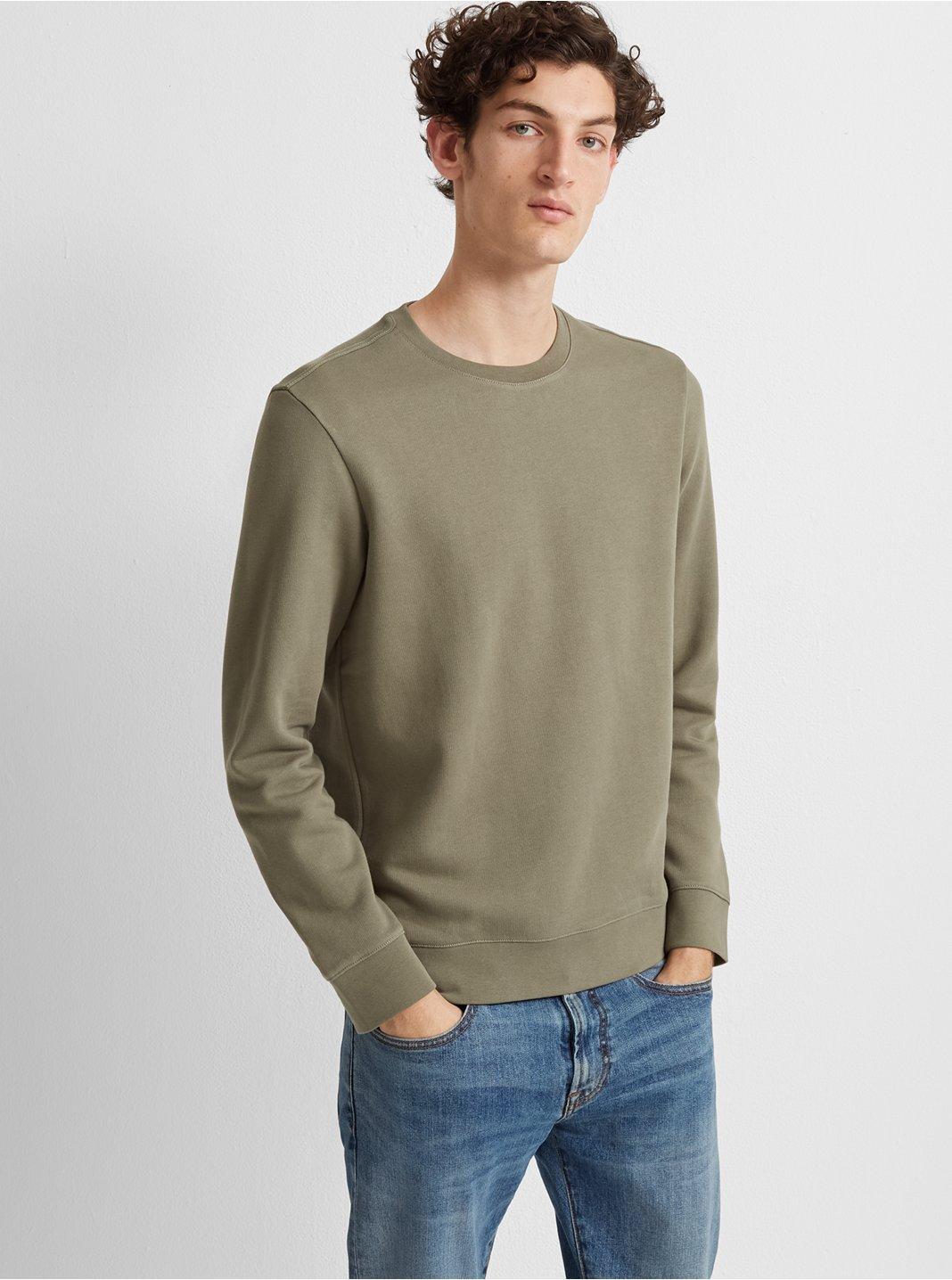 Piece-Dyed Sweatshirt
