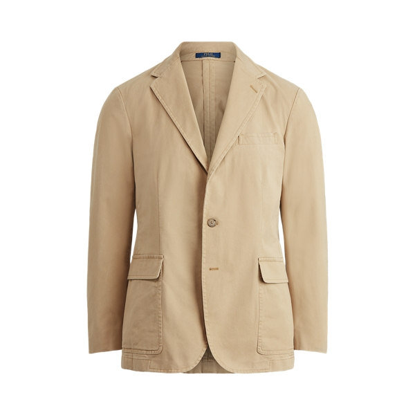 폴로 랄프로렌 Polo Ralph Lauren Polo Unconstructed Chino Suit Jacket,Monument Tan