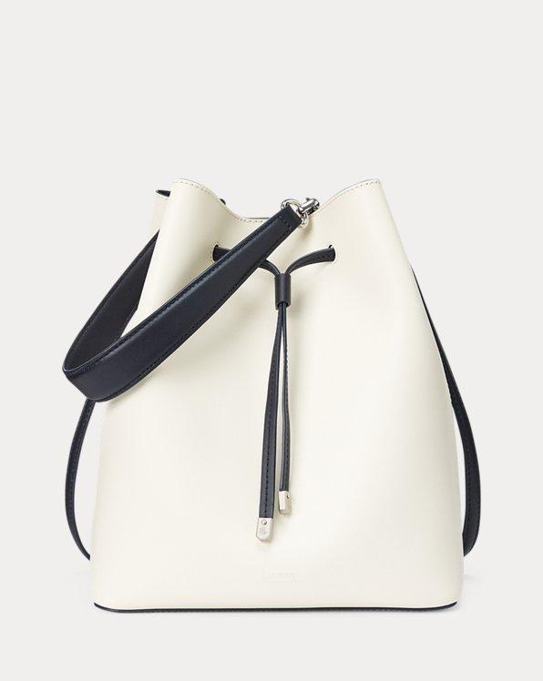 Leather Debby Drawstring Bag
