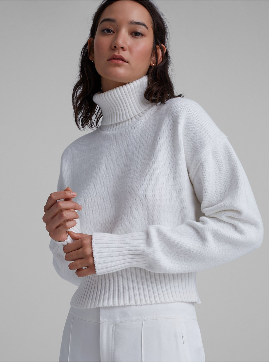 Easy Turtleneck Sweater