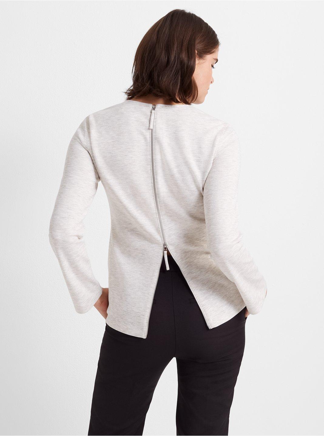 Back-Zip Top