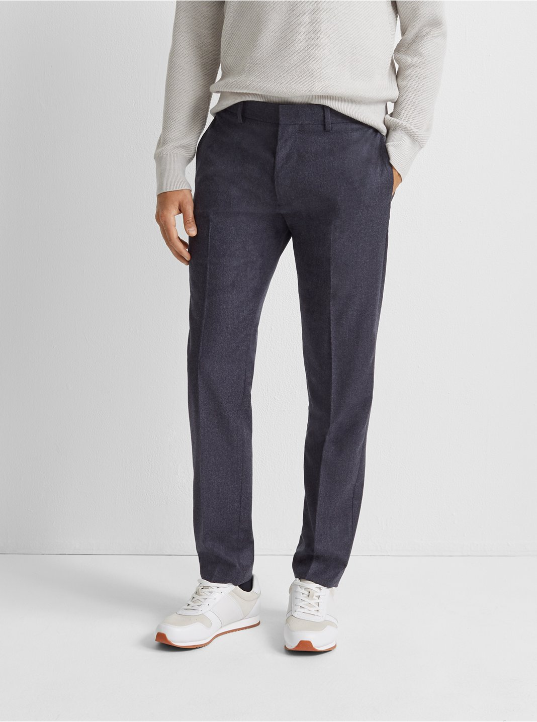 Grant Wool Flannel Trouser