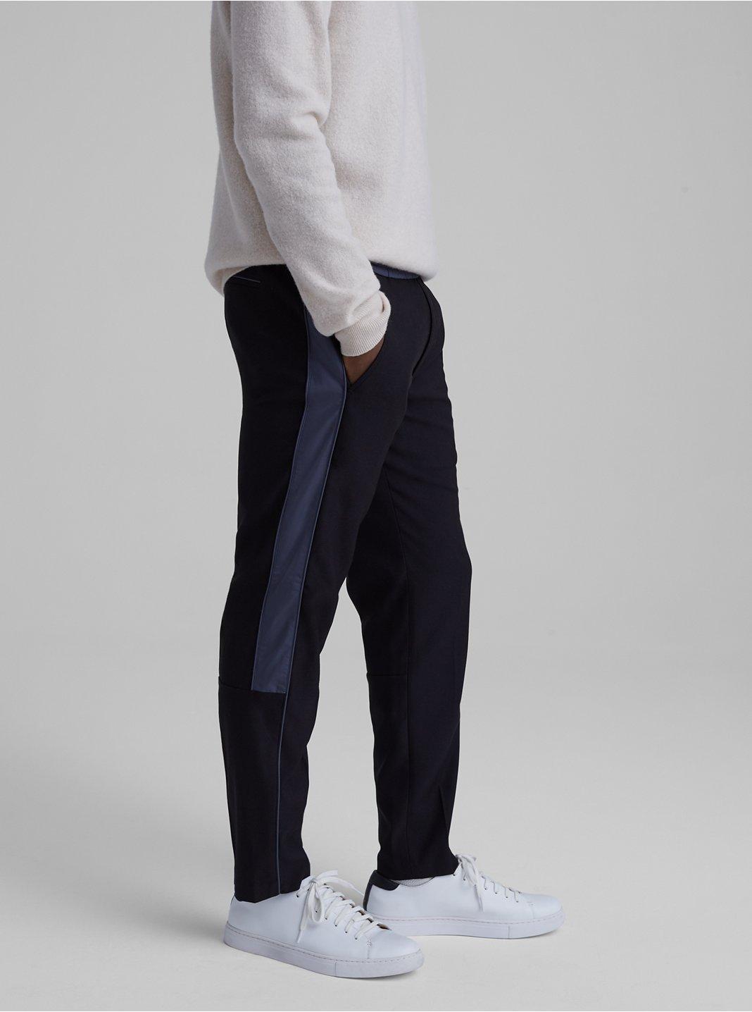 Twill Panel Trouser