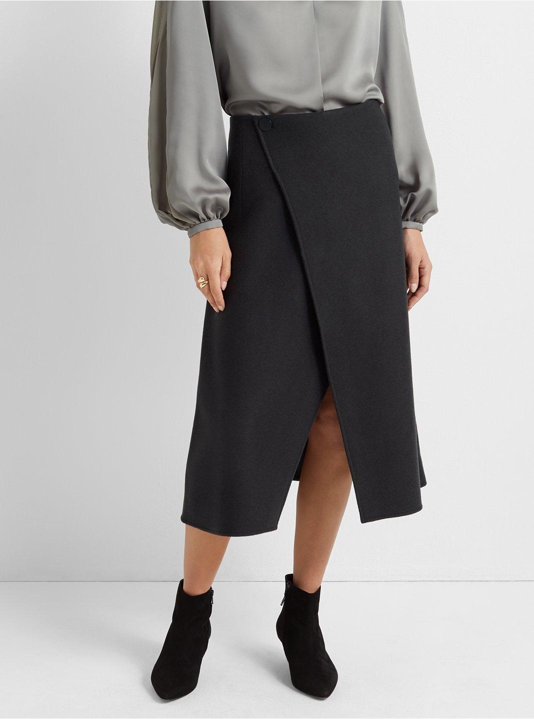 A-line Cutaway Skirt