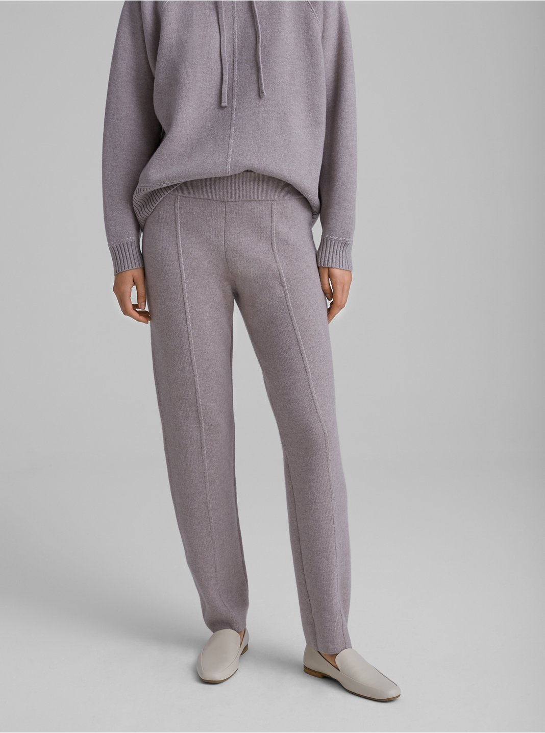 Double-Faced Sweater Pant