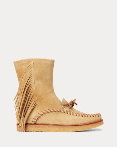Channing Fringe Mid-Rise Boot