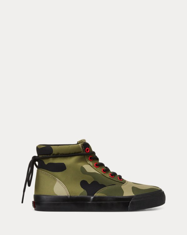 Baskets montantes Bryn camouflage