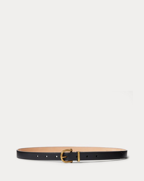 Vachetta Leather Stirrup Belt