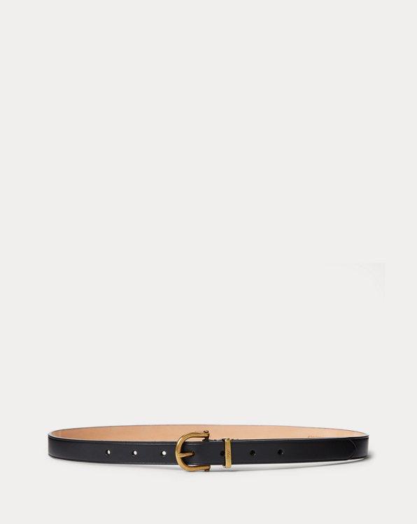Cinturón de piel vachetta tipo estribo
