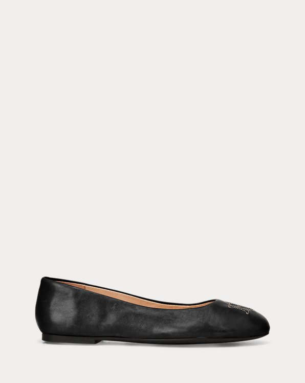 Jamie Leather Flat
