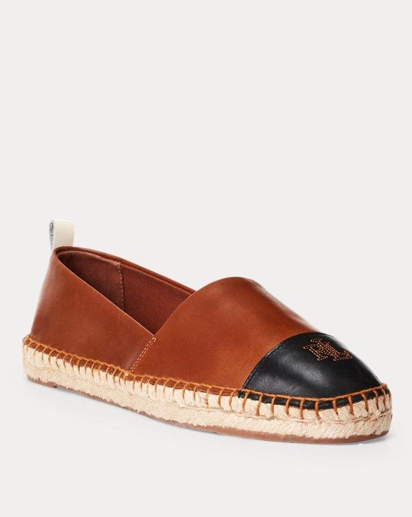 Dorian Leather Espadrille