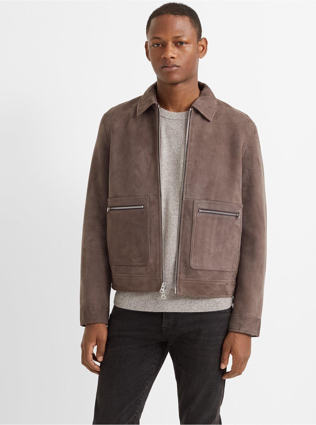 Bonded Suede Jacket