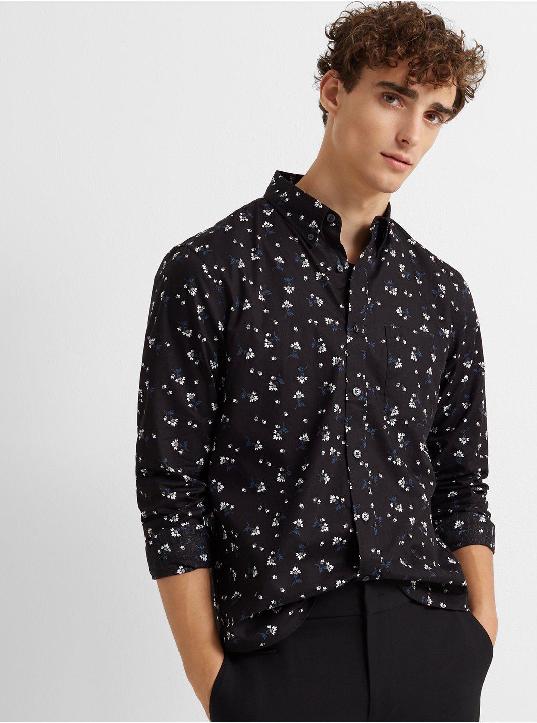 Slim Tossed Bloom Shirt
