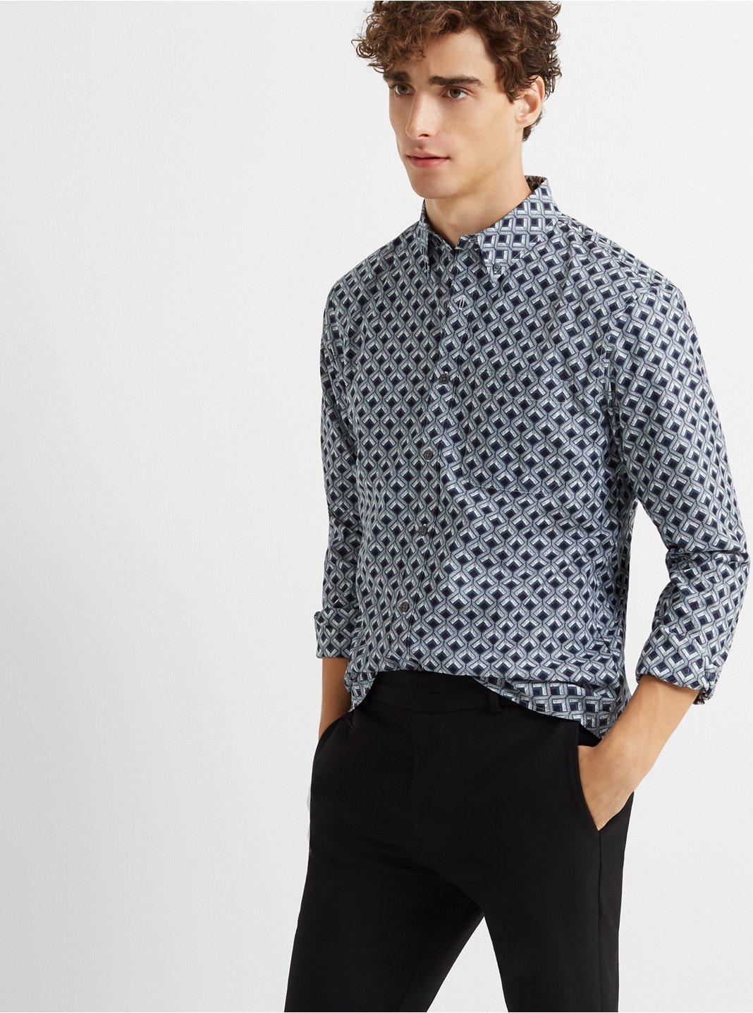 Slim Deco Diamond Shirt