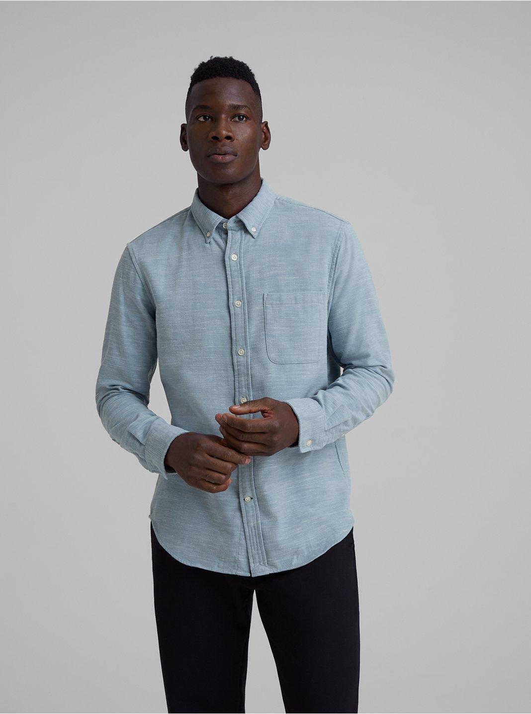 Slim Mélange Shirt