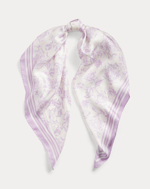 Alexa Floral Silk Scarf