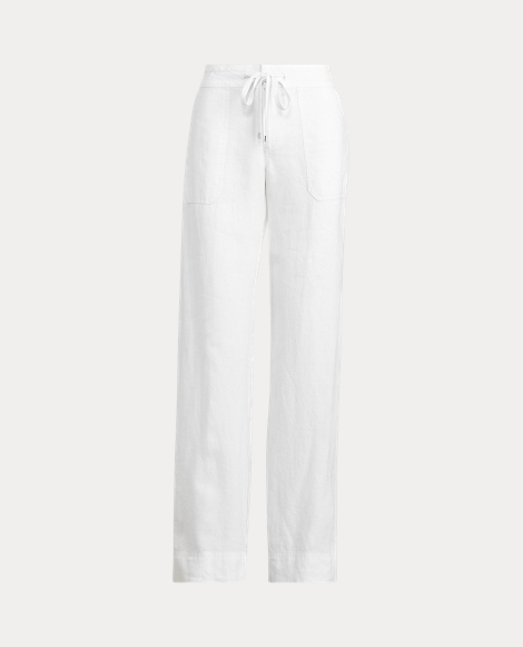 Linen Drawcord Trouser