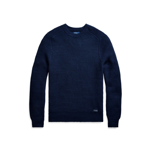 폴로 랄프로렌 Polo Ralph Lauren Cotton Crewneck Sweater,Newport Navy