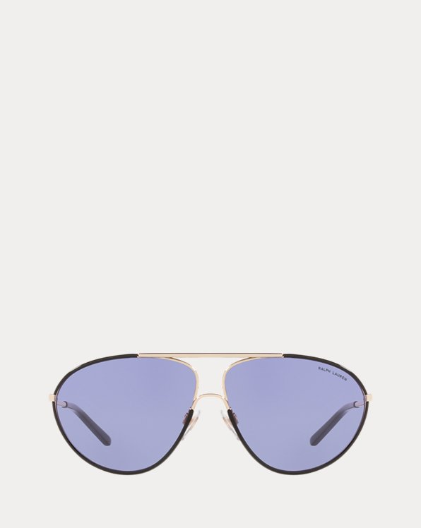 Übergroße Pilotensonnenbrille