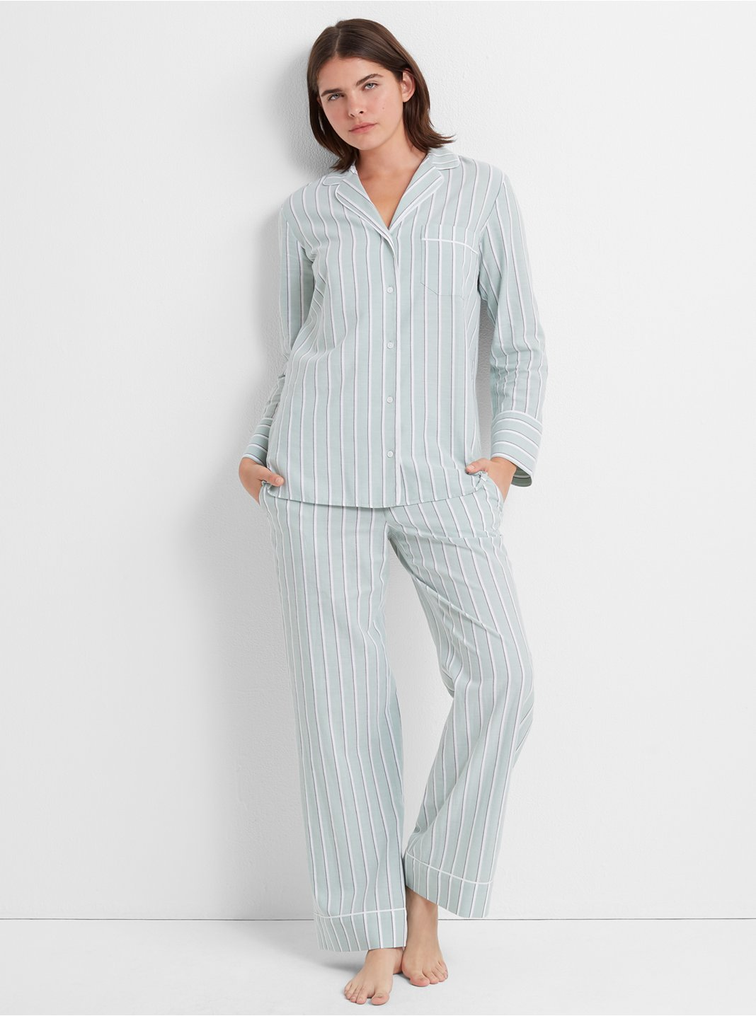 Wide Stripe Sleep Pant