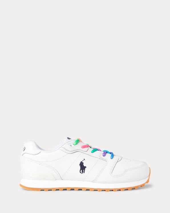 Klassischer Ledersneaker Runner