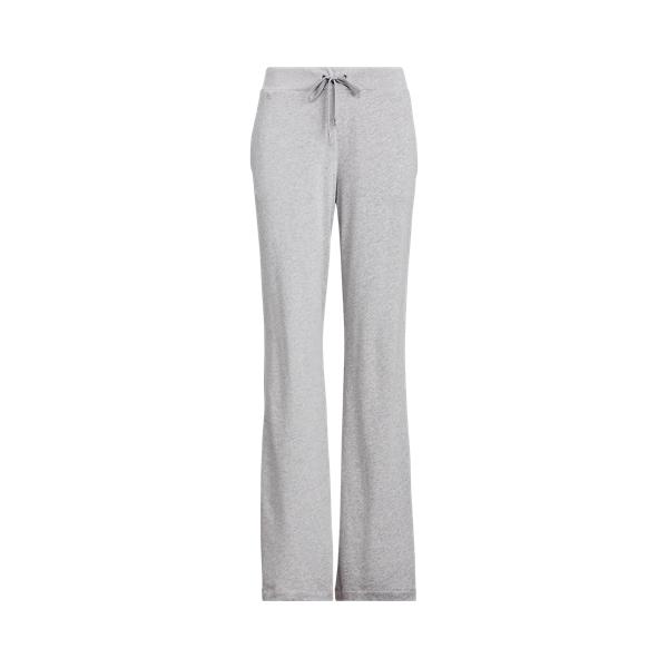 폴로 랄프로렌 Polo Ralph Lauren French Terry Straight Pant,Pearl Grey Heather