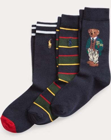 Boys Christmas Socks.Boys Socks Crew Ankle Dress Sizes 2 20 Ralph Lauren