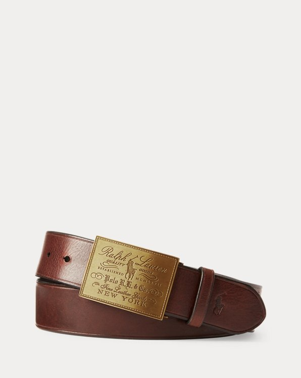 Heritage Plaque-Buckle Belt