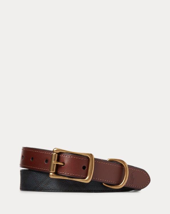 Tartan Faux-Leather Belt