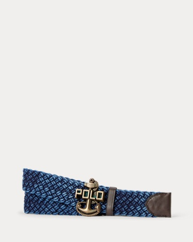 Anchor-Buckle Braided Belt