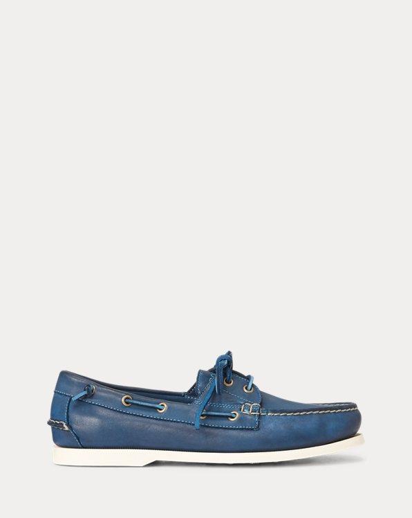 Merton Leather Boat Shoe